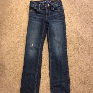 Gap jeans size 6slim boot cut